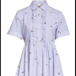 🆕 Kate Spade Abuzz Poplin Dress